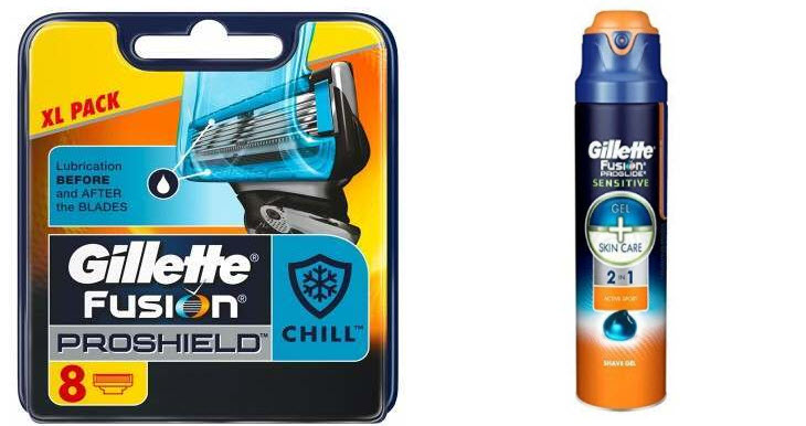 Gillette Razors and Razor Blades