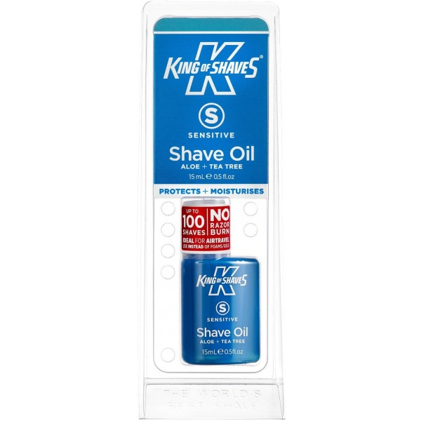 King of Shaves AlphaOil Sensitive Skin Shaving Oil