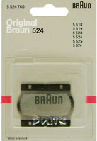 Replacement foil unit for Braun 524 for 5523, 5524,