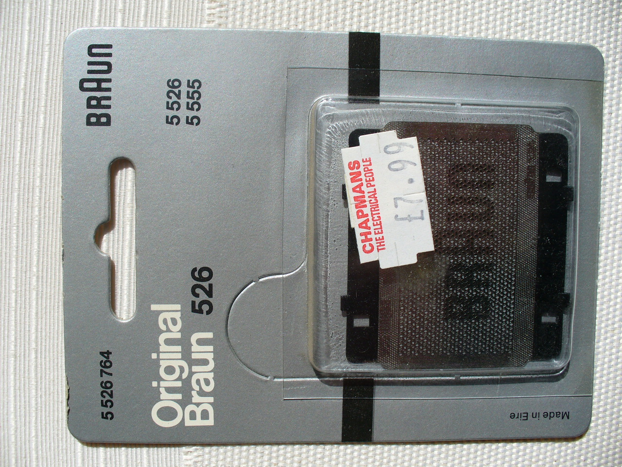 Braun Original Part 5526764 Shaver Foil for 5526, 5555