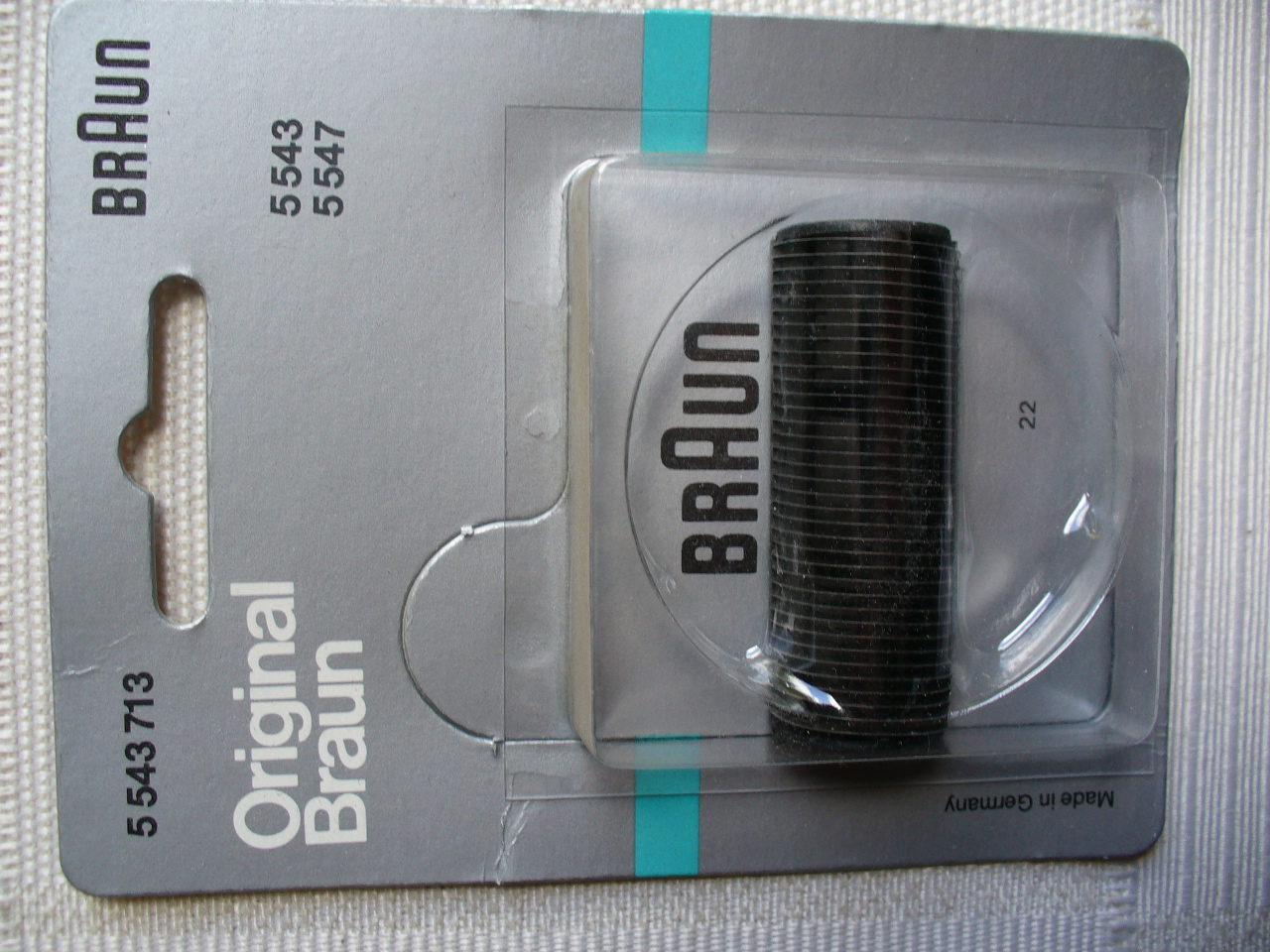 Braun Original Part 5543713 Shaver Cutter for 5543,5547