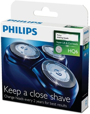 Replacement foil and cutter for select PhiliShave HQ6