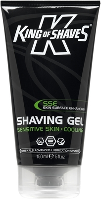 King of Shaves Azor Shave Sensitive Skin Mentholated 150 ml Shaving Gel