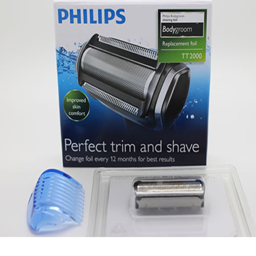 Replacement shaver foil cutter unit - TT2020 for Philips Bodygroom