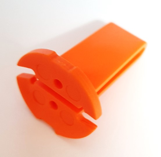 Philips ORANGE Plastic Key Locking Tool