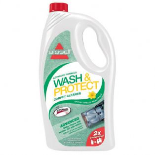 BISSELL's Spring Breeze Advanced Formula WASH & PROTECT Carpet Shampoo