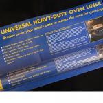 Universal Heavy-Duty Oven Liner  40cm x 50cm