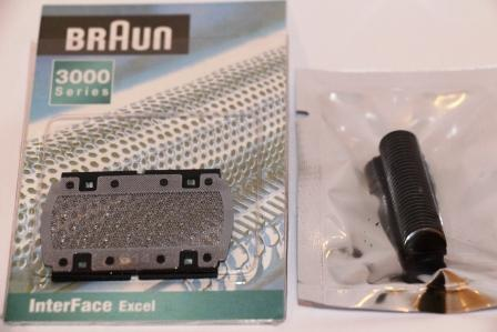 Braun Model 614 Shaver Foil and Cutter Pack