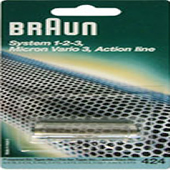 Braun 424 Foil  System 1-2-3 Micron Vario 3 Action