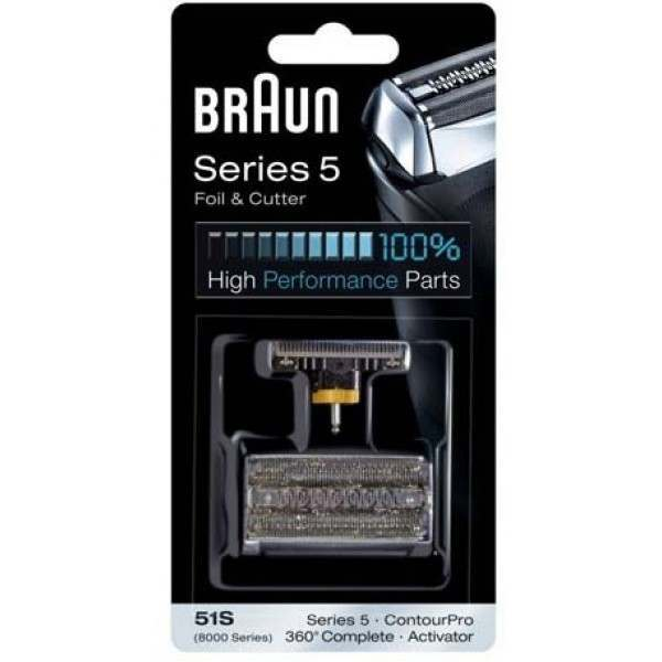 Braun 8000 for Activator 85XX  Foil and Cutter 51S