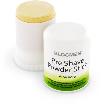 Pre Shave powder block Aloe Vera Sensitive