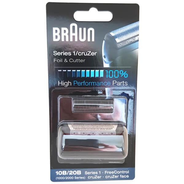 Braun 2000 Series cruZer 4 cruZer 3 cruZer 20B Foil and Cutter