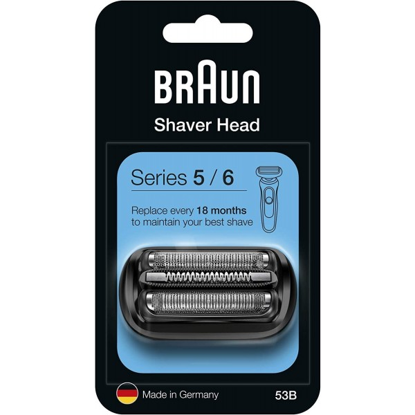 Braun 53B Series 5/6 (New Generation) Foil & Cutter Pack