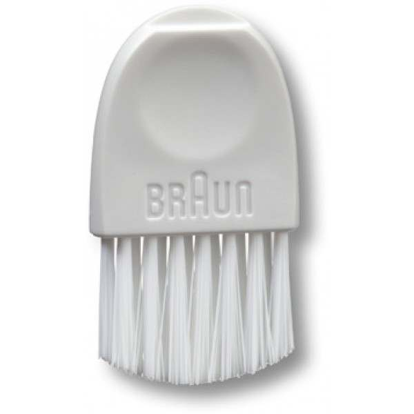 Genuine White Braun Electric shaver cleaning brush