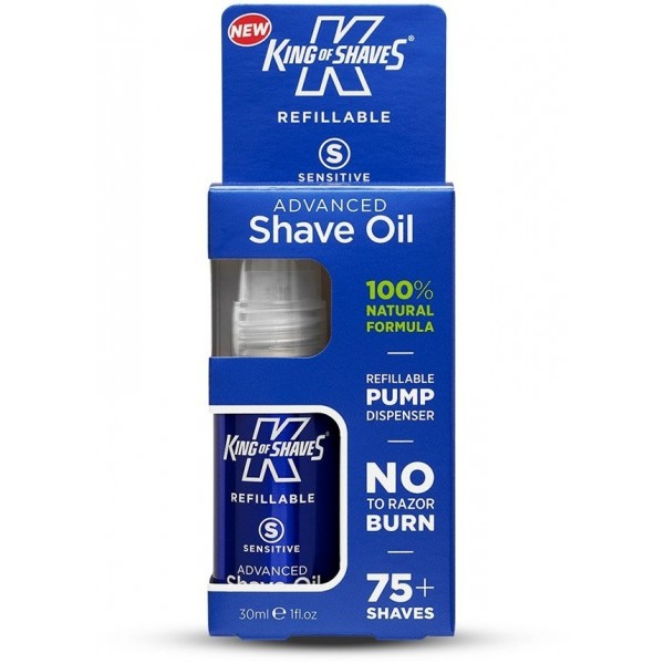 King of Shaves Kinexium Silicon Technology Shaving Oil