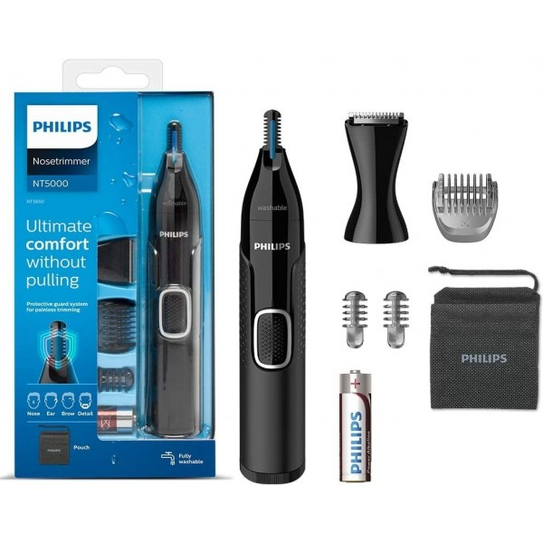 Philips NT5650/16 Series 5000 Comfortable Nose and Ear Trimmer