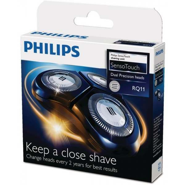 Philips Philishave RQ11/50 SensoTouch Triple Rotary Cutting Heads