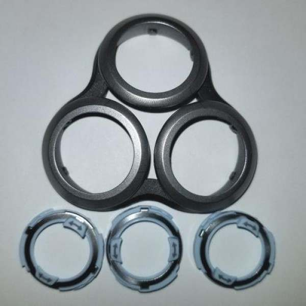 Philips S9000 Head Holder + Retaining Rings Replacement Kit