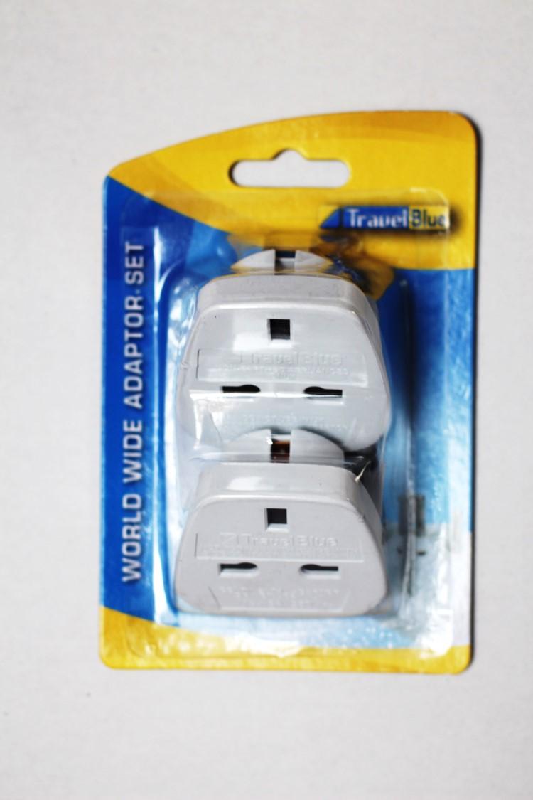 Travel Blue World Wide Travel Plug Adaptor Sockets