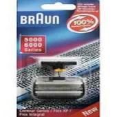 Foil & Blades Colour Black 31B - Braun 5000 / 6000 Series