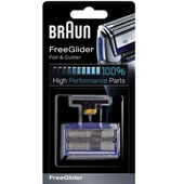 Braun FreeGlider Replacement Foil and Cutter Blades